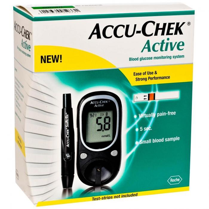 accu chek active instructions