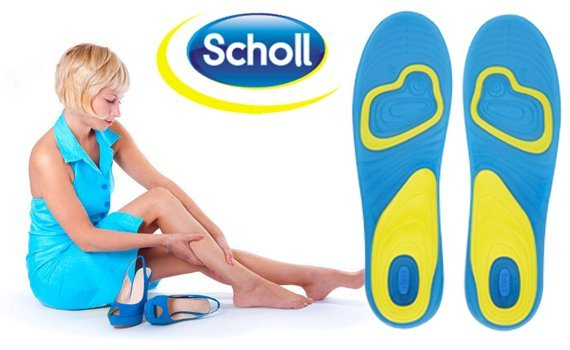 Scholl Active Work Gel Massage Insoles for Men / Women