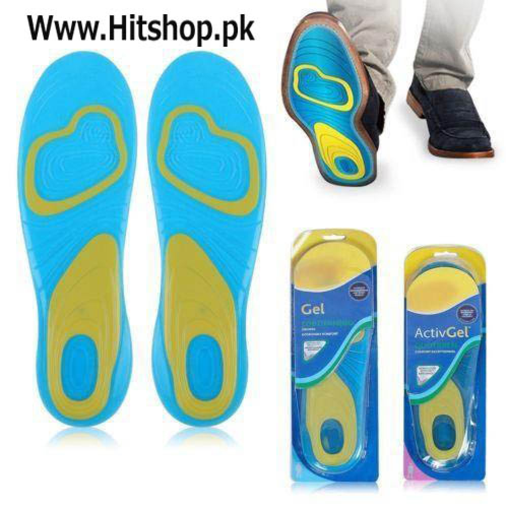 Massaging Comfort Cushion Gel InSoles