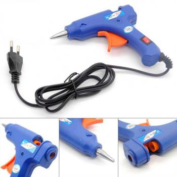 20W Thermostat Hot Melt Glue Gun with 10 Glue Stic