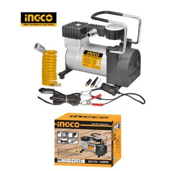 Ingco Car Pump Air Compressor Auto Electric Tire I