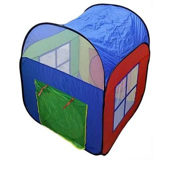 Multicolour Play House Tent