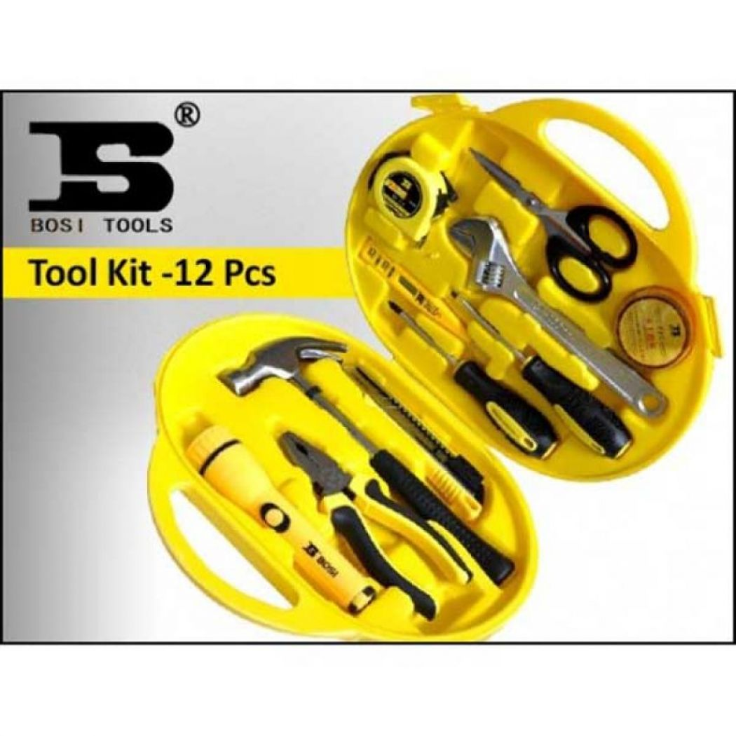 12 Pcs Home Tools Kit