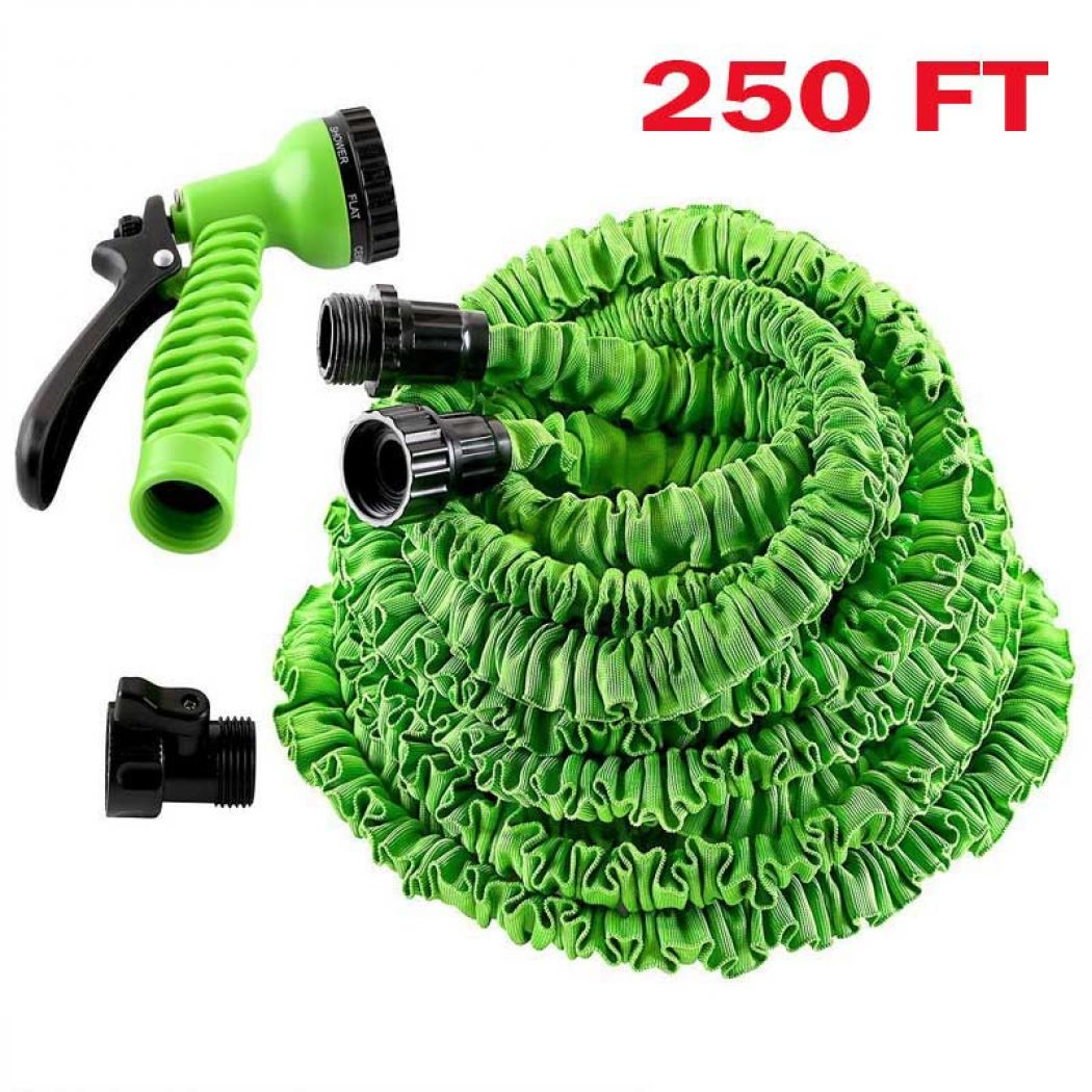 250FT Multi-Function Expandable Magic Hose Water P