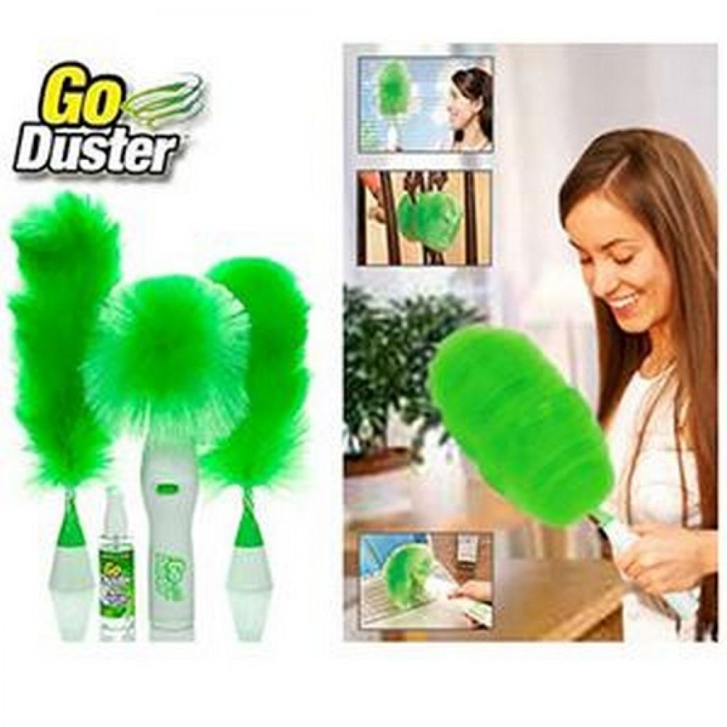 Motorized Electric Go Duster Wet and Dry Duster