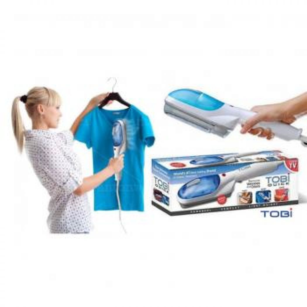 Travel Tobi Steam Brush Quick Handheld Steamer