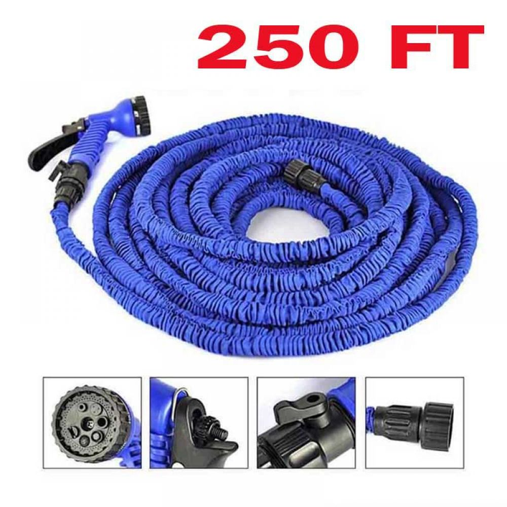 250FT Multi-Function Expandable Magic Hose Water Pipe