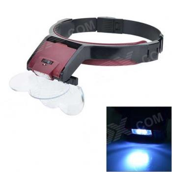 Multi-Purpose Head Lamp Magnifier MG81001-B