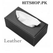 Office Home Car Pure Leather Tissue Box