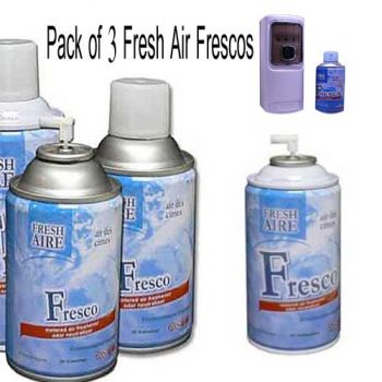 Pack of 3 Fresco Air Freshener Refill 300ml