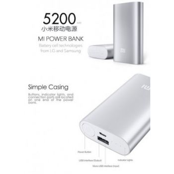 MI Powerbank 5200mah