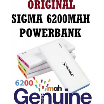 Original Sigma 6200Mah PowerBank