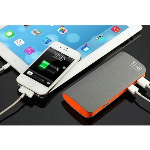 Power Bank 12000mah 10All Dual USB Portable Matte