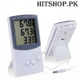 Digital LCD Thermometer Hygro Temperature Meter