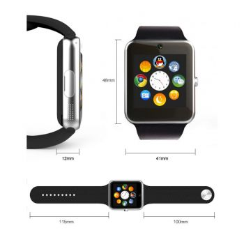 Smartwatch GT08 with Sim Card TF Card