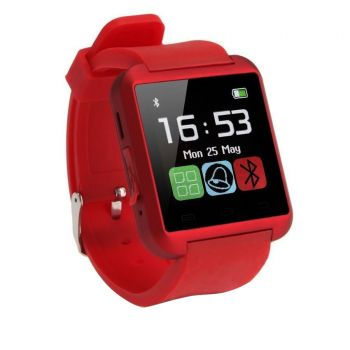 U8 Bluetooth Smart Watch -Red