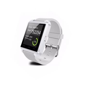 U8 Bluetooth Smart Watch White