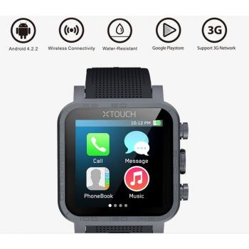 Xtouch Wave Gsm Watch Dual Core Andriod 4 2 Wifi