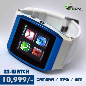 ZT-GSM WATCH BLUE