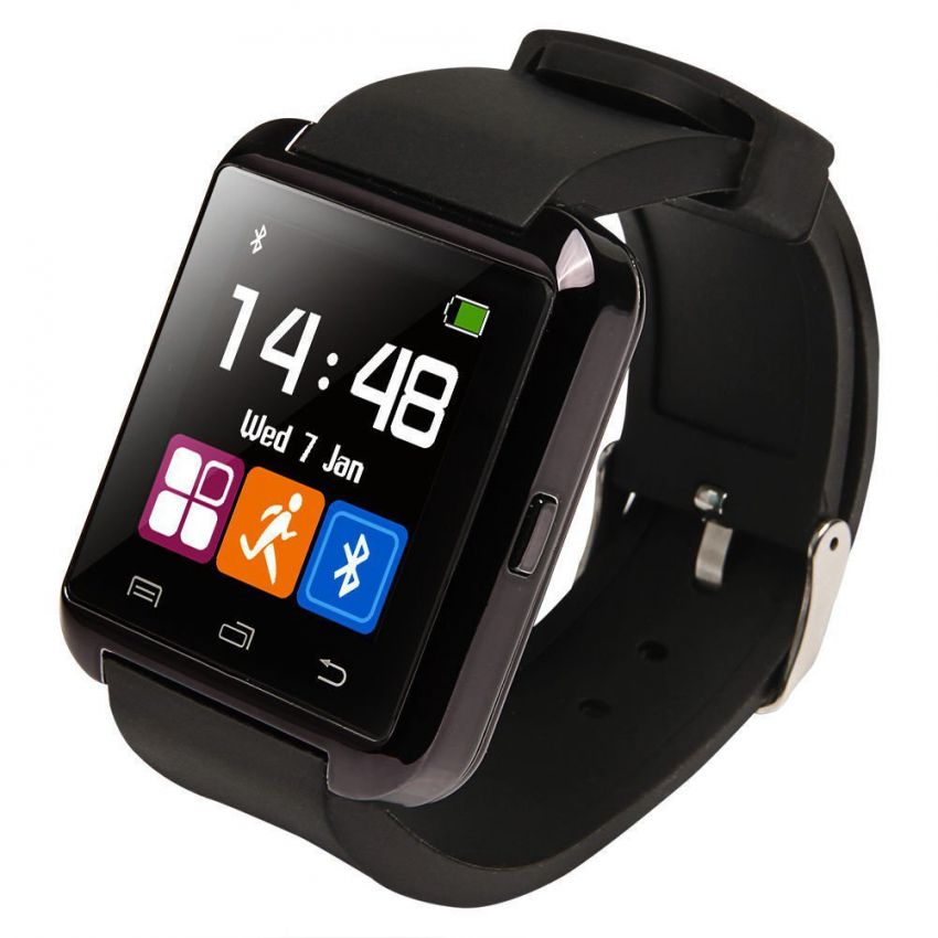 U8 Bluetooth Smart Watch Black