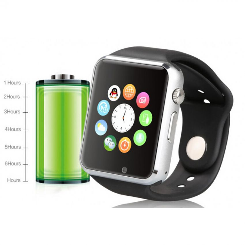 Smart GSM Android IOS Mobile Watch with Bluetooth