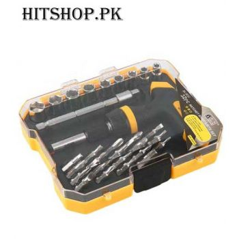 32 Pcs Professional Repair Opening Tool Ratchet Sc