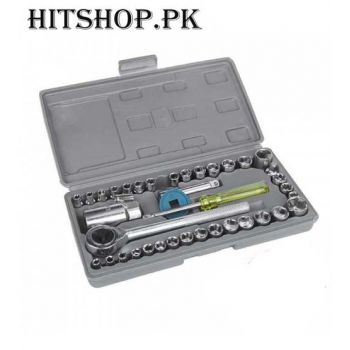 40 Pcs Automotive Socket Wrenches Set