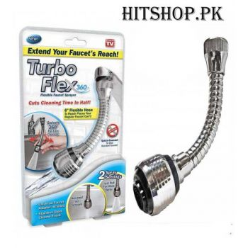 Turbo Flex 360 Flexible Faucet Sprayer