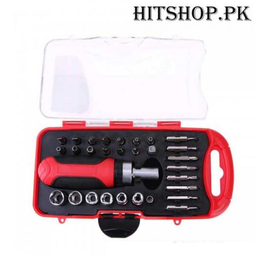 30 Pcs Bits And Socket Repair Tools Set