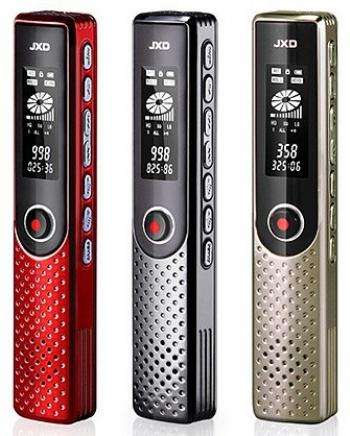 Voice Recorder with MP3 Player JXD-D62