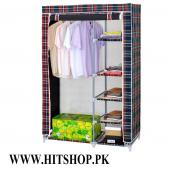 Kids 5 Shelves Folding Clothes Storage Wardrobe 6F