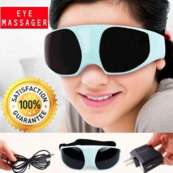 Eye & Brain Massager Vibration Relax Relief Massag