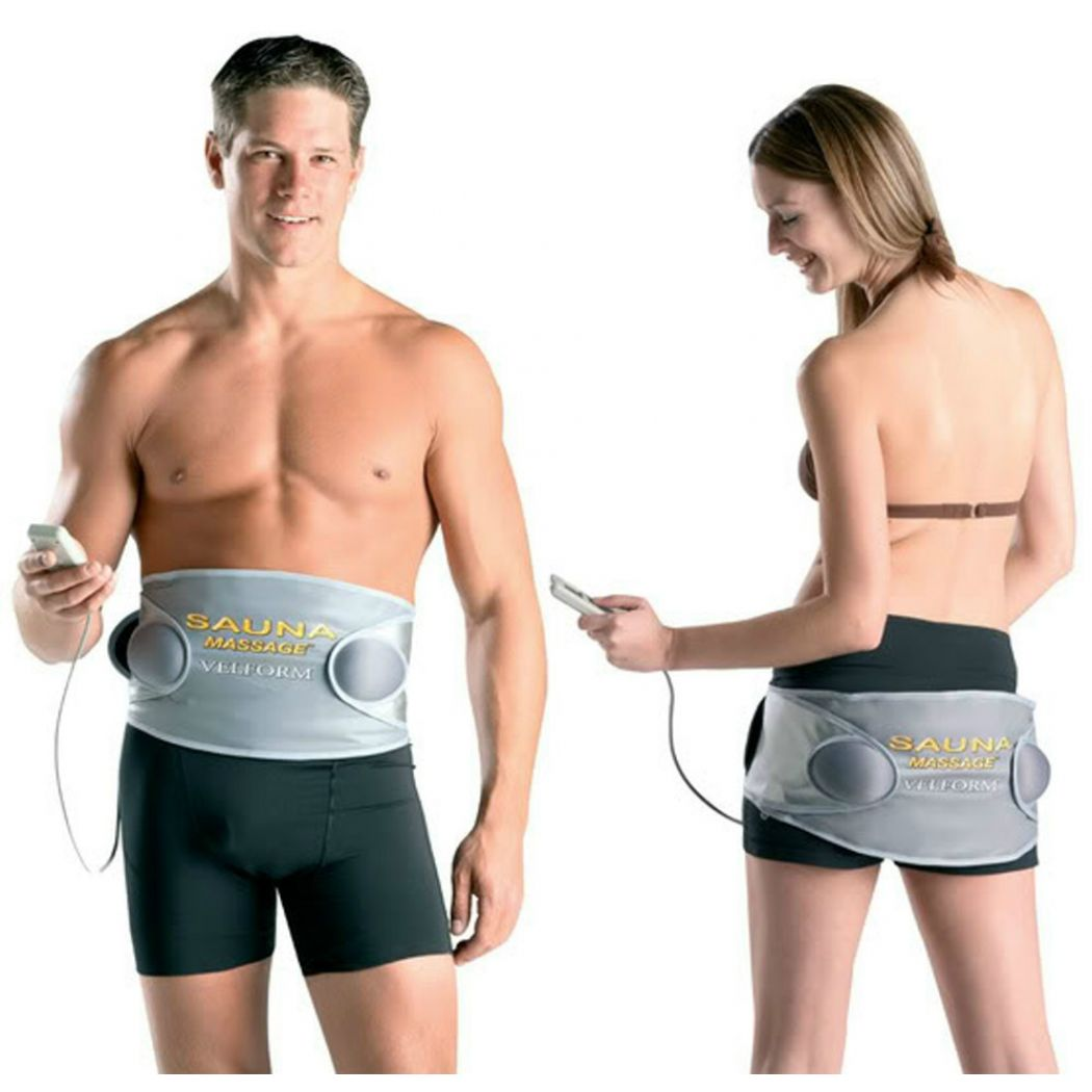 Sauna Massage Velform 2 in 1 Slimming Belt