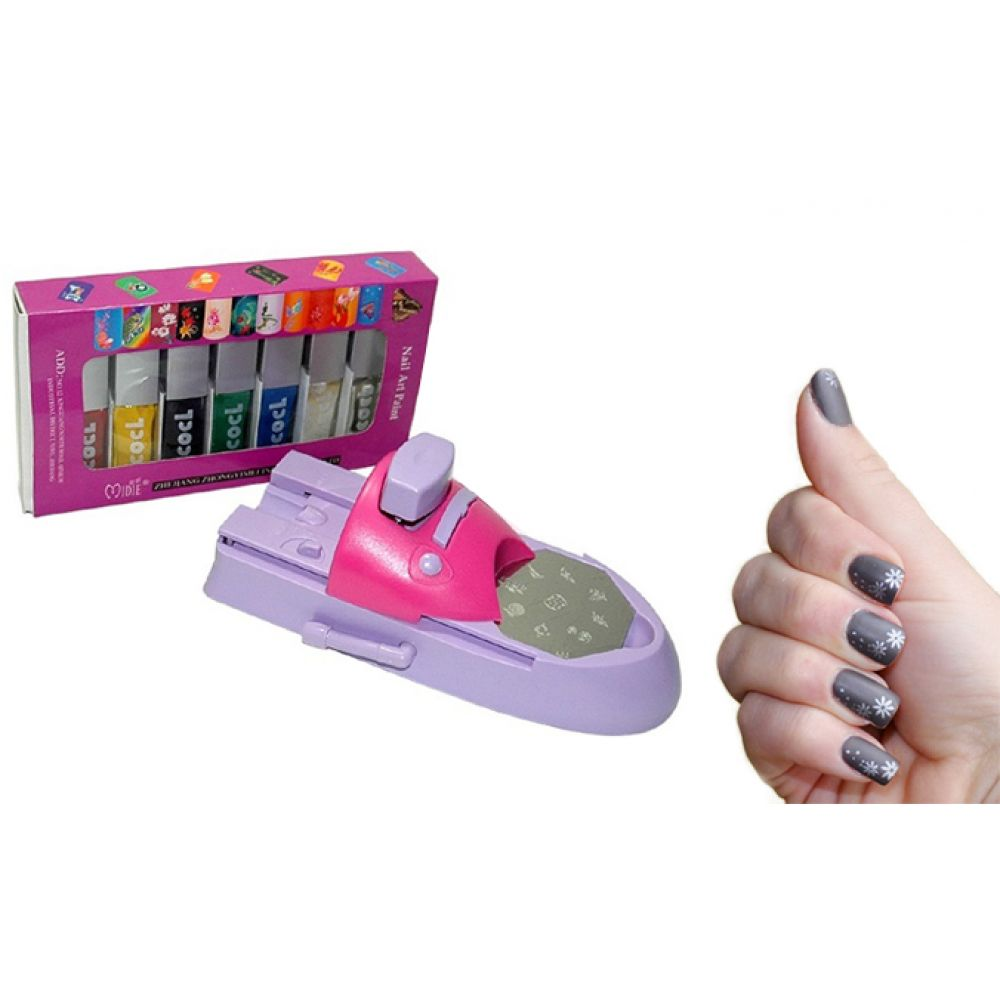 Diy Nail Art Printing Machine - DIY Campbellandkellarteam