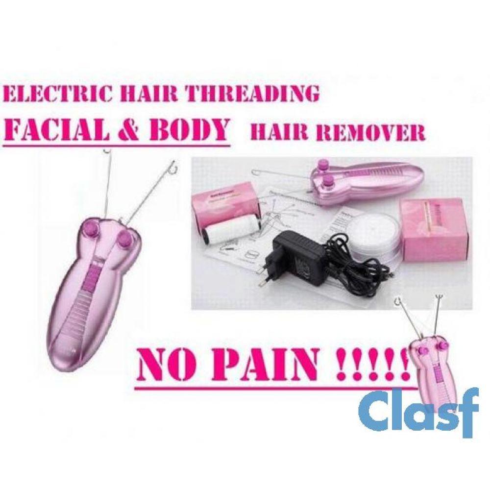 threading hair removal machine