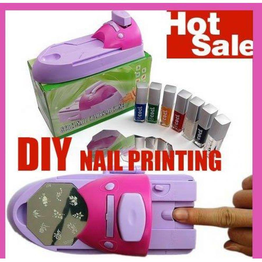 Luxury Nail Art Stamping Machine Vignette - Nail Art Ideas ...
