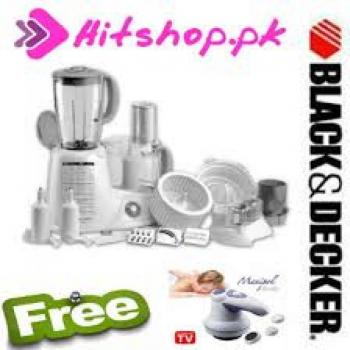 Black & Decker Food Factory FX1000 With Free Monip