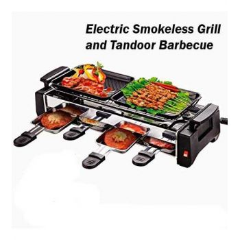 Electric Smokeless Grill And Tandoor Barbecue