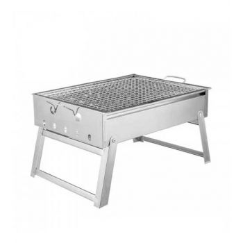 New Portable Stainless Steel Barbecue Grill