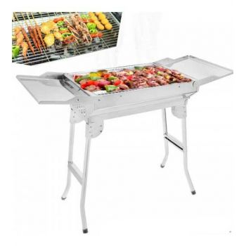 Wings Style Stainless Steel Bar B Q Grill