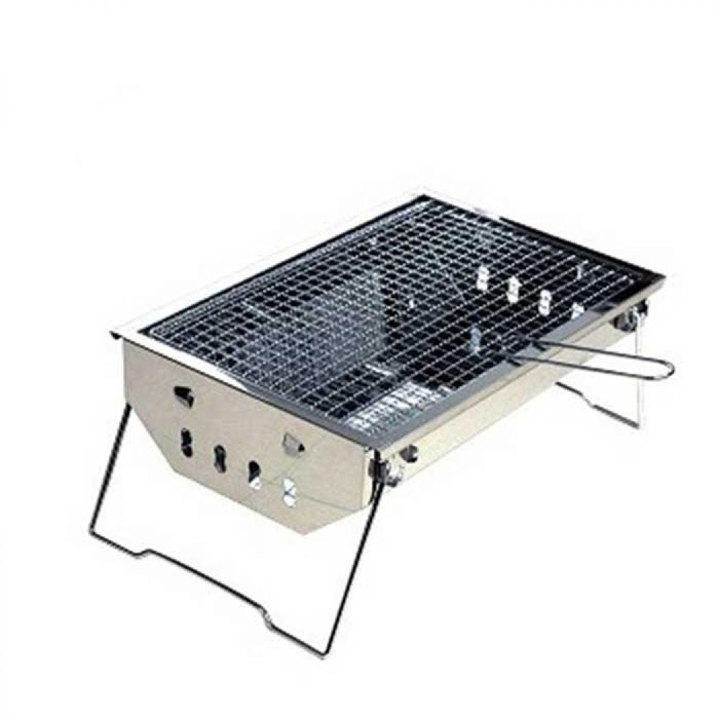Easy Cleaning Stainless Steel Charcoal BBQ Grill P