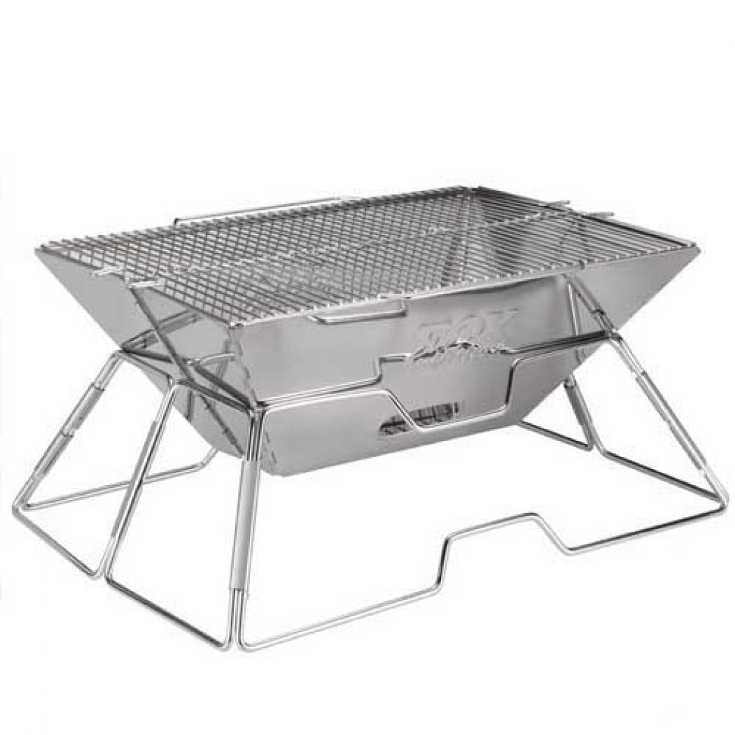 Large Folding Charcoal Stainless Steel BBQ Grill