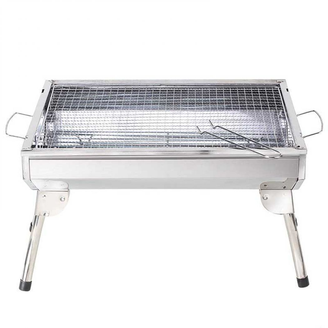 Stainless Steel Combined Charcoal Barbecue Bbq Gri
