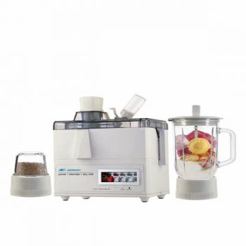 Anex AG176 GL Juicer Blender and Grinder White
