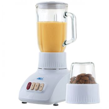 Anex Blender Grinder 2 In 1 Glass Jug AG-6039