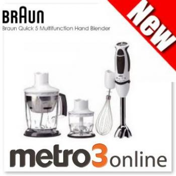 Braun MultiQuick 5 Hand Blender with Ice Crusher