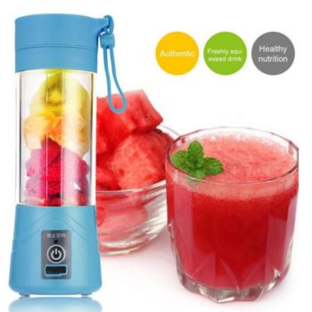 Portable USB Electric Rechargeable Fruit Juicer Sm