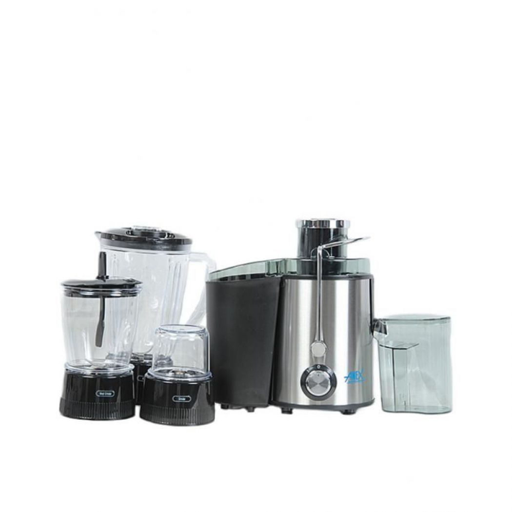 Anex 4 in 1 Food Processor AG 174 Silver And Black