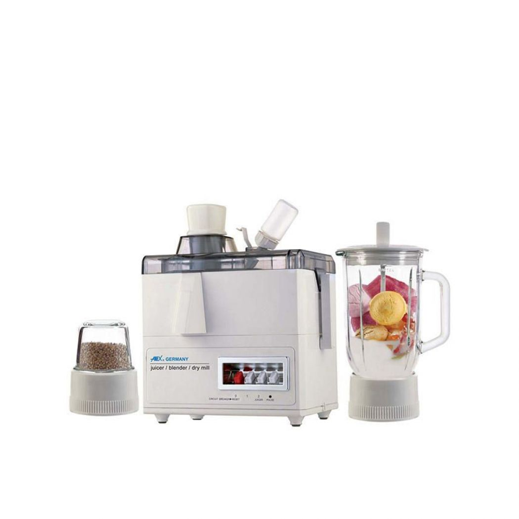 Anex AG 176 GL Juicer Blender And Grinder White