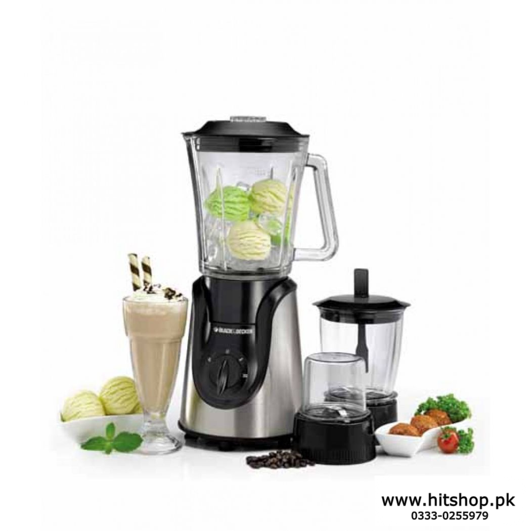 Black And Decker Blender Grinder Mixer BX 600G